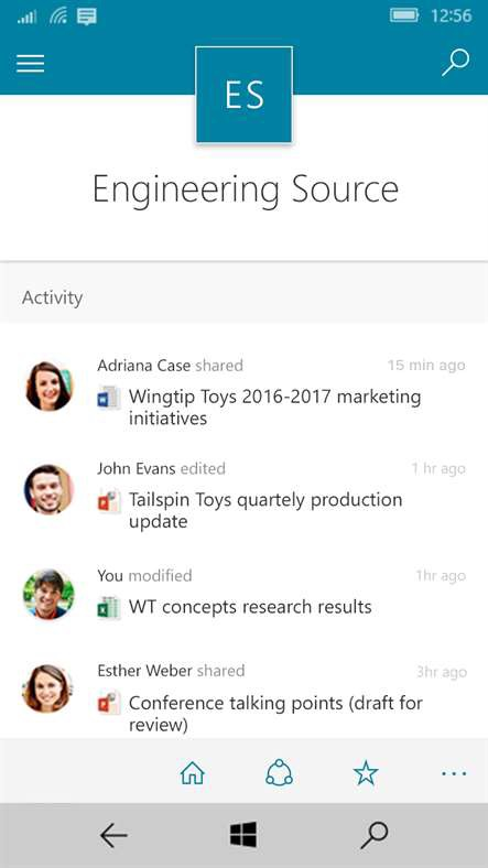 Mobile Users Get SharePoint App On Windows 10