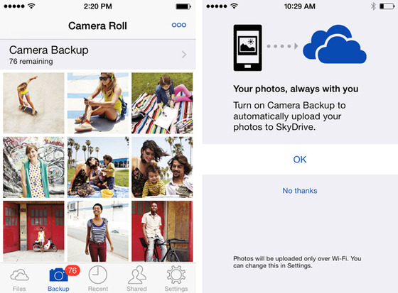 SkyDrive Gets Mobile Updates