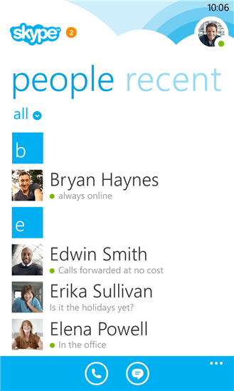 New Skype For Windows Phone Includes Cortana Support and More