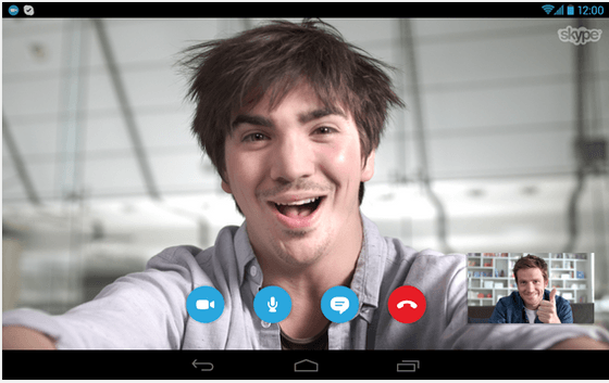 Microsoft's Skype Issues Update For Android Users With KitKat