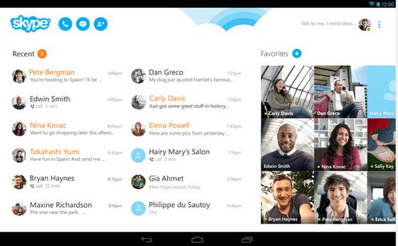 Skype Gets Update To Version 4.7 For Android From Microsoft