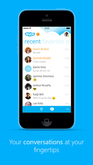 Microsoft Releases Skype 5.2 For iPhone On Monday