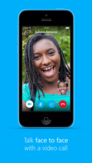 New Skype 5.2 For iPhone Adds Voice Message Support and More Features