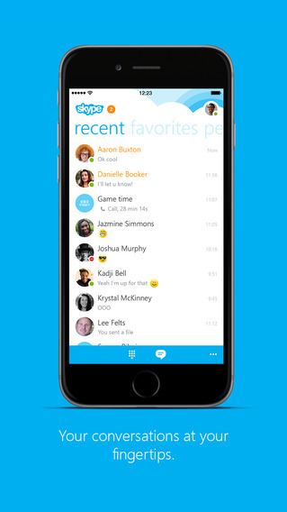Microsoft Updates Skype On The iPhone To Version 5.7