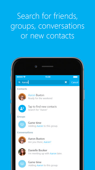 Microsoft Updates Skype For iPhone To 6.6