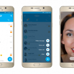 msft skype6android png