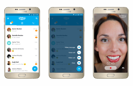 Skype Gets Radical Redesign With Versions For Android