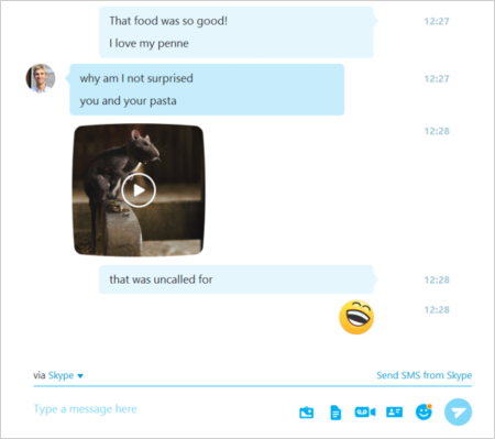 Microsoft Updates Skype For Windows With Media Toolbar