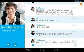 Skype For Android Gets Picture In Picture Update