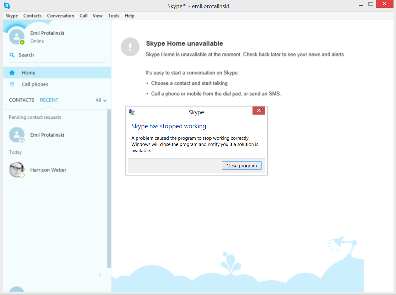 Microsoft Issues Bug Fix To Skype Within 24 Hours Of Skype Bug Emergency