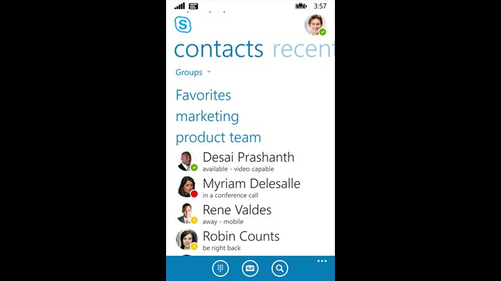 Microsoft Shows Off Skype For Business For Windows Phone In Prep For iOS and Android Versions