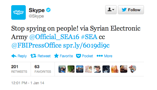Skype Has Social Media Accounts Hacked