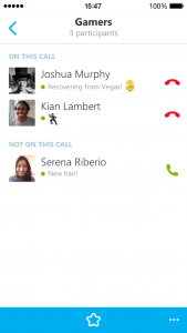 Skype For iPhone Gets Hosted Group Audio Calls