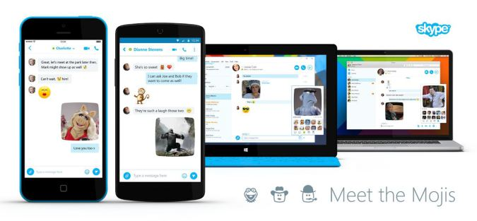 Microsoft's Skype Unit Launches Mojis For Sharing