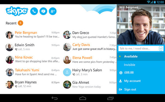 SlingPlayer And Skype For Android Get Microsoft Friday Updates