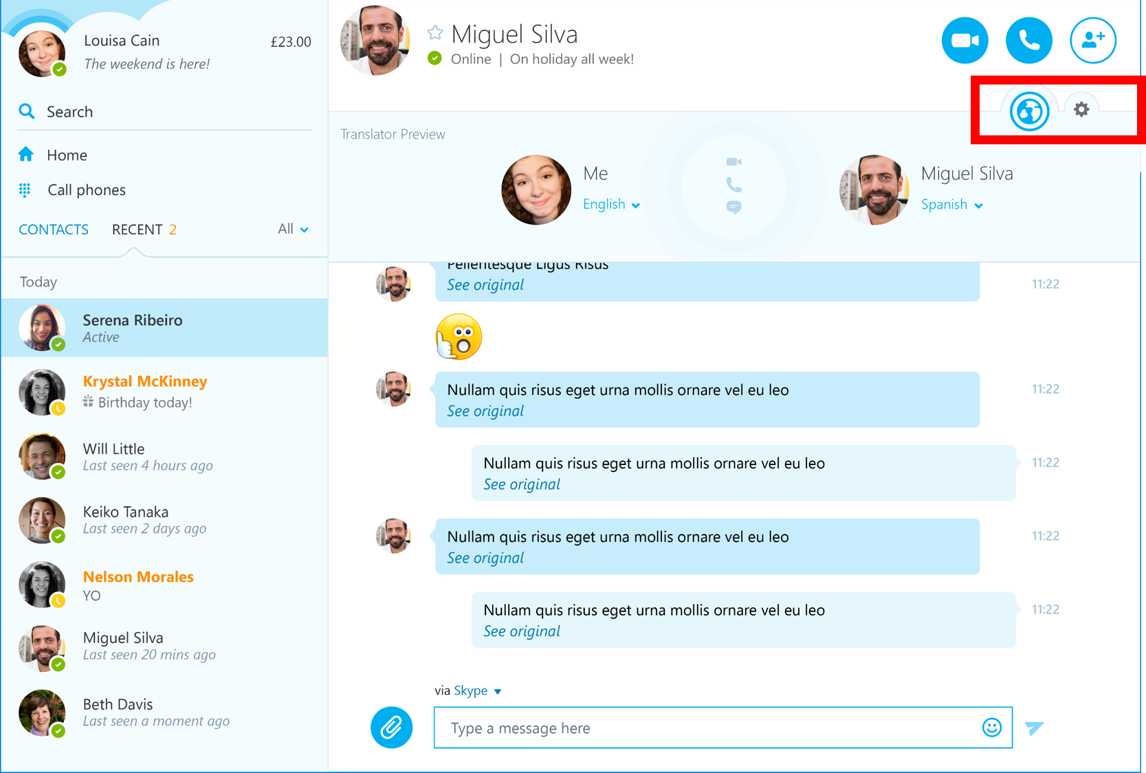 Microsoft's Windows Version Of Skype Now Includes Skype Translator Tool
