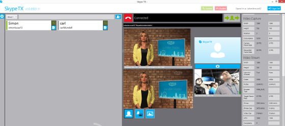 Microsoft Shows Off Latest Skype TX At NAB Show In Las Vegas