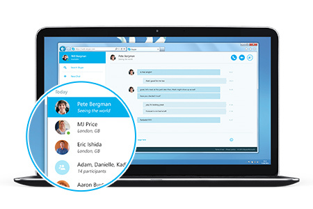 Skype For Web Launches In Beta With Easier Searching