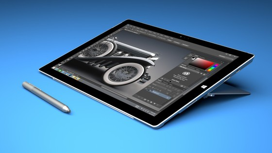 Microsoft and Adobe Launch Creative Cloud Updates For Surface Pro 3