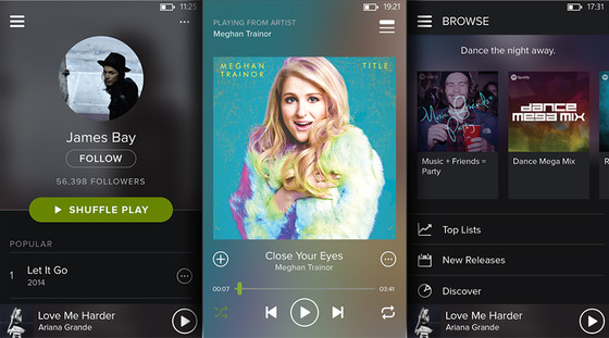 Microsoft Shows Off Spotify Update To Windows Phone 8