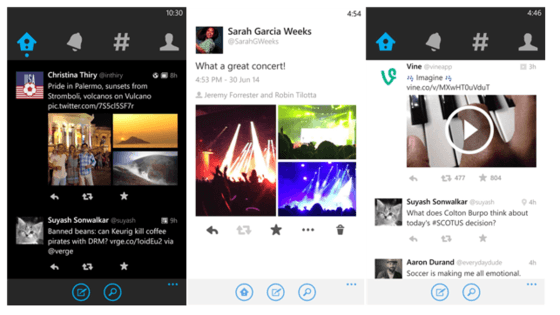 Microsoft's Windows Phone Gets Spotify Integration With Twitter App For Windows Phone 8.l