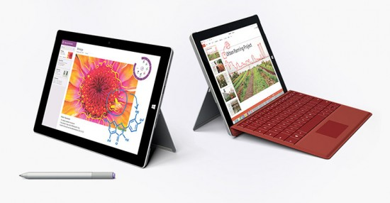 Microsoft Shows Off Surface 3 Line Of Tablets On Microsoft Store Pages