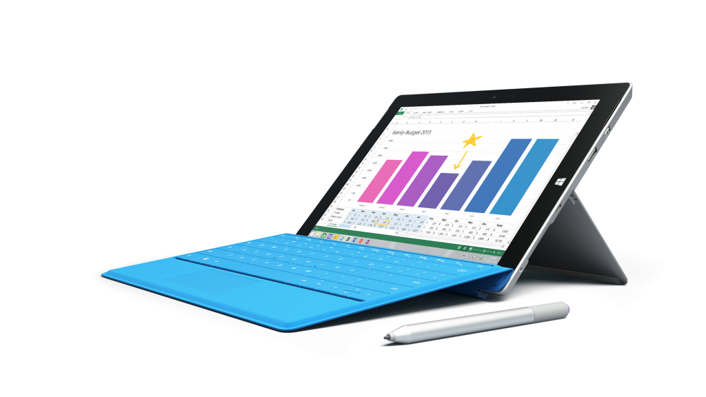 Microsoft Makes Surface 3 With 4G LTE Available in US