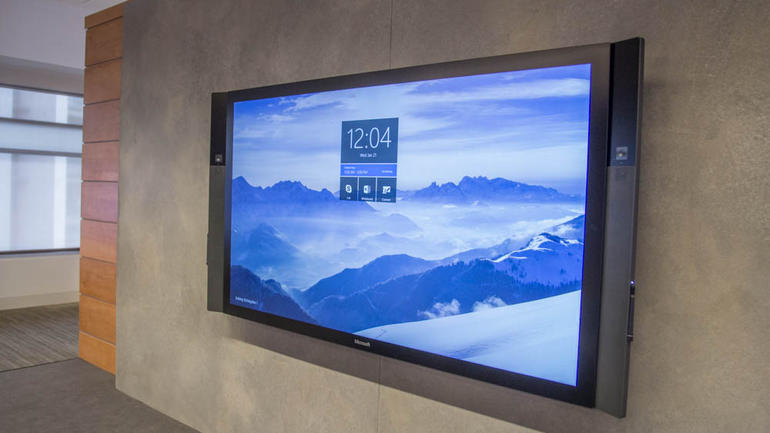 Microsoft's Surface Hub Focuses On Business and Enterprise Users With Style