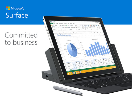 Microsoft Pledges Business Support For Surace Pro 3 Line Of Products
