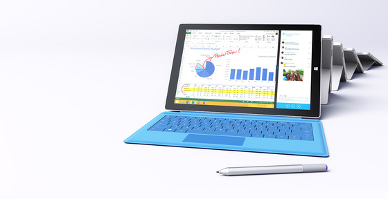 Microsoft Releases Intel Powered Core i3 Surface Pro 3 Units
