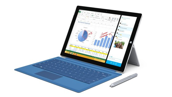 Microsoft Shows Off Surface Pro 3 With Reviews
