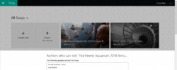 Microsoft's Sway Gets Collaborative Tools