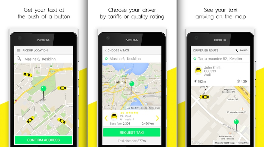 Microsoft Shows Off Taxify For Windows Phone Users