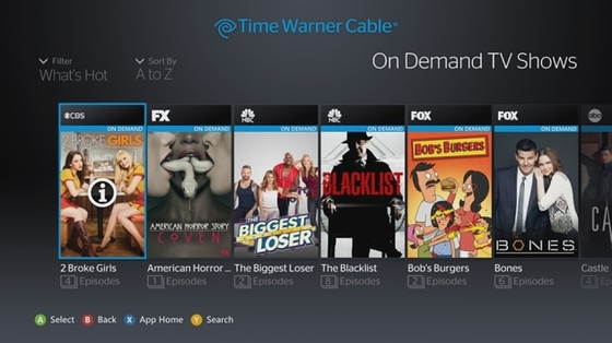 Xbox One and Xbox 360 Updates With Cable Apps