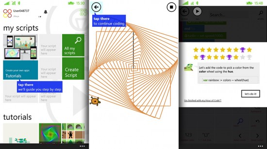 Microsoft Releases TouchDevelop For Lumia Apps and Games