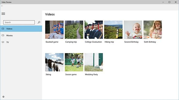 Microsoft's Pre Release Video App For Windows 10 Gets Released In Beta Form
