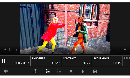 Microsoft's Video Tuner Allows Exposure, Contrast & Saturation Editing On Windows Phones