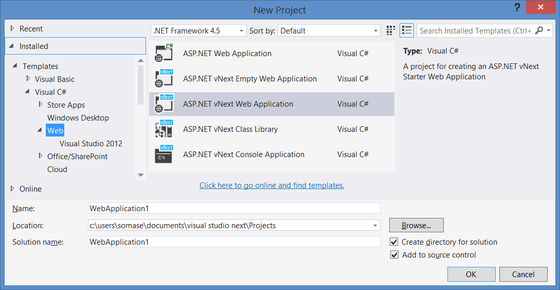 Microsoft Shows Off Screens For Visual Studio 14 Beta For Download Today