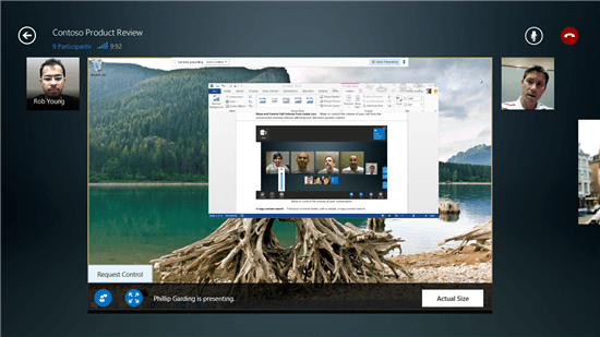 Lync App For Windows Gets Major Updates For Windows 8.1