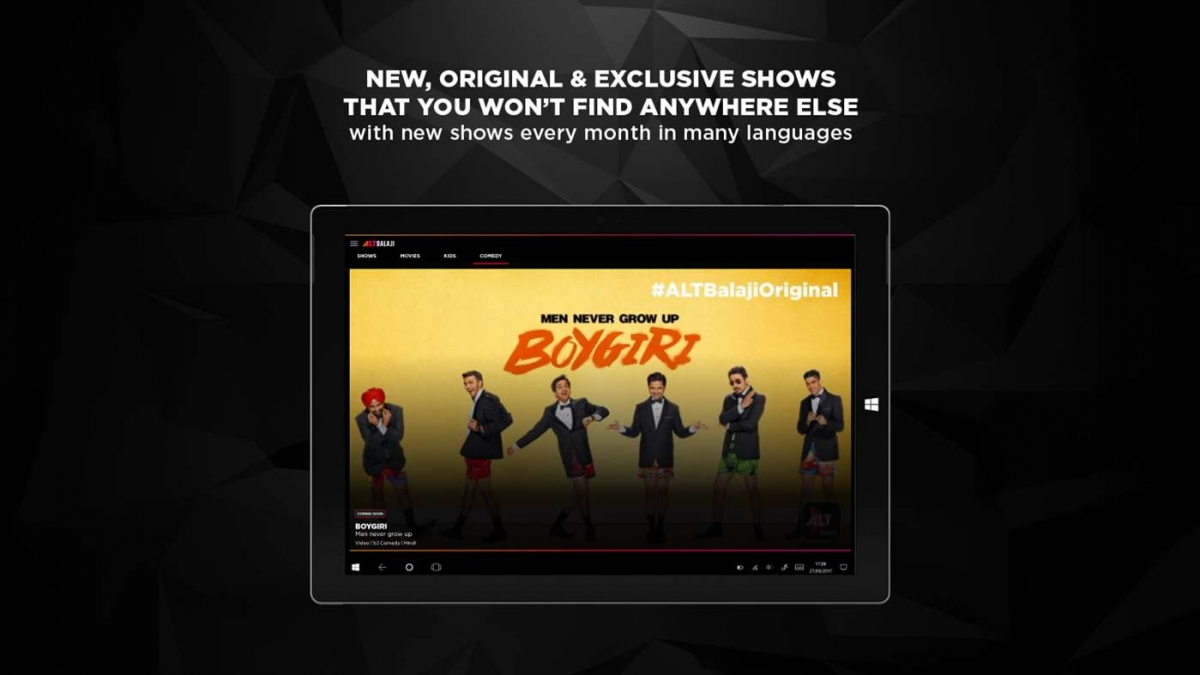 ALTBalaji Video App Arrives For Windows 10 Users