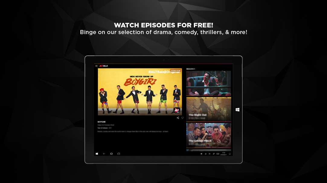 Enjoy Episodes For Free With ALTBalaji App