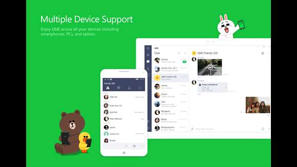 Windows 10 Users Starting Can Use LINE With Desktop App