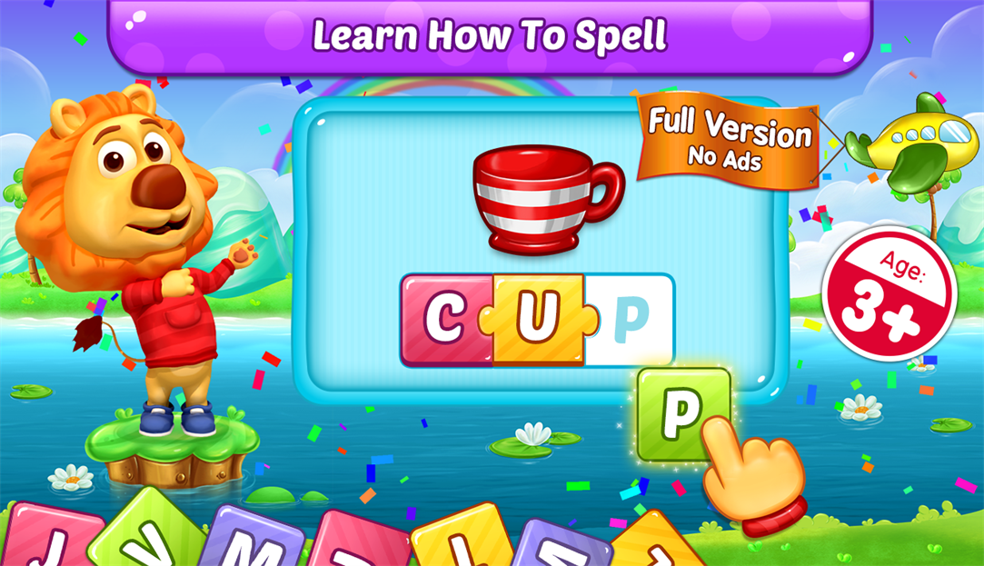 Children Can Learn To Spell With Windows 10 App ABC Spelling
