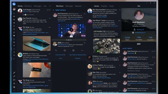 Aeries Is A Must Have Third-Party Twitter App On Windows 10