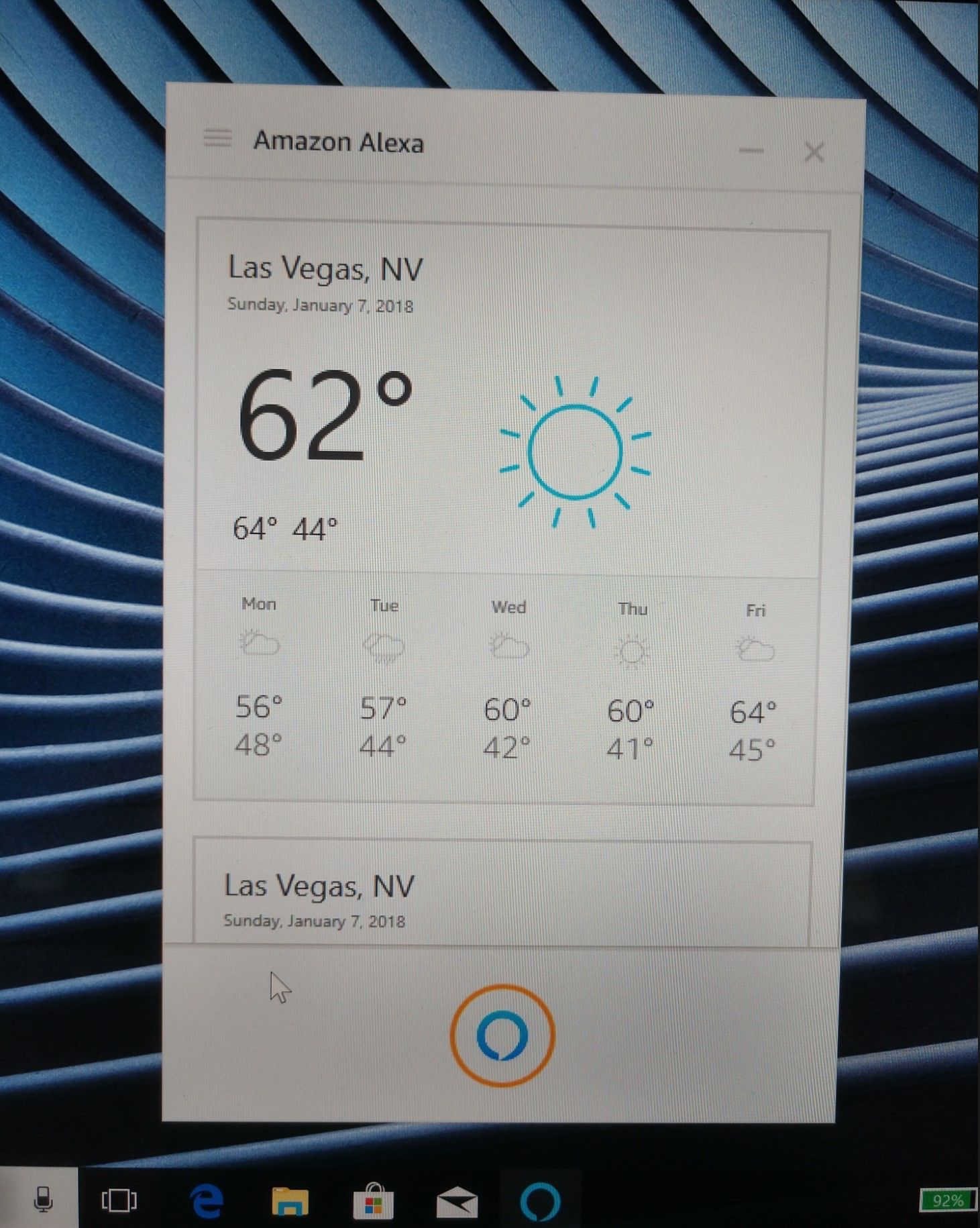 First Views Of An Alexa App For Windows 10 Users