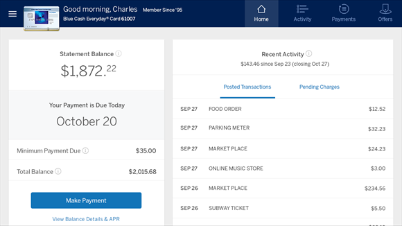 American Express Gives Windows 10 Users Access To Statements & More