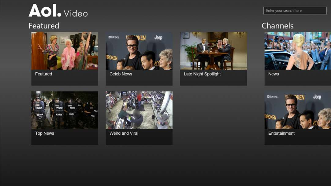 New AOL Video App Comes To Windows 10