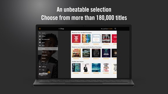 Listen To Audiobooks With Audible's Windows 10 App