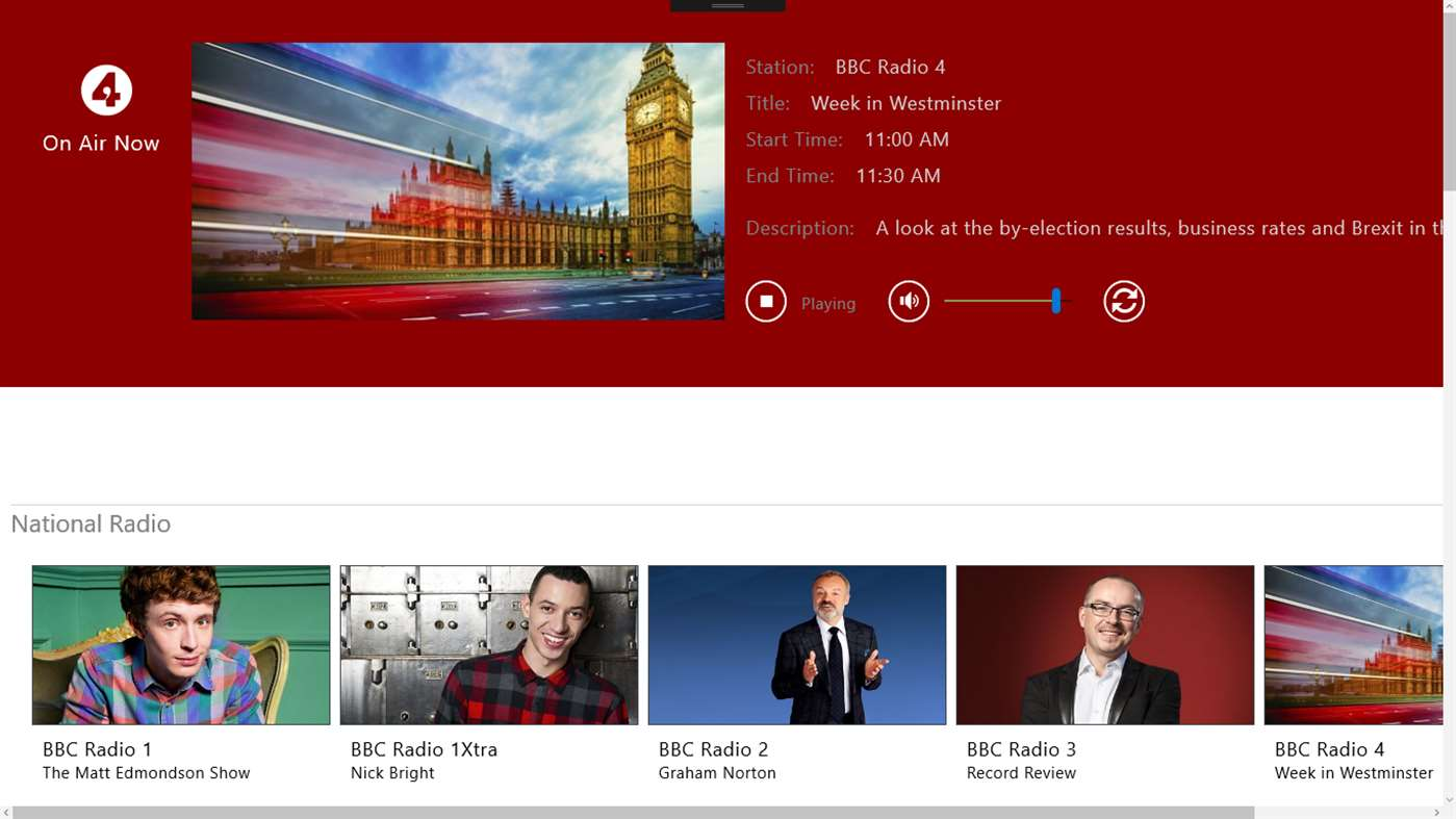 Listen To BBC Radio With Great Windows 10 App