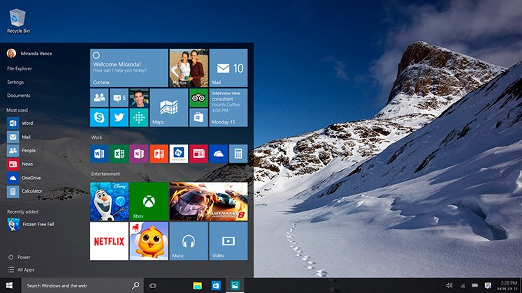 Latest Build Of Windows 10 10166 Released